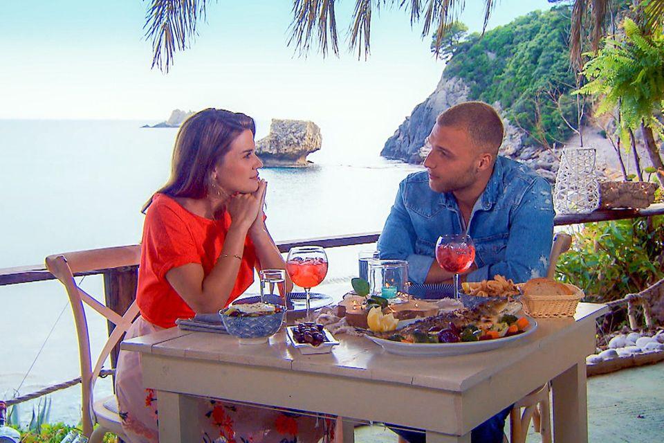 Filip ist der erste Glückliche, der von Nadine zu einem Einzel-Date eingeladen wird