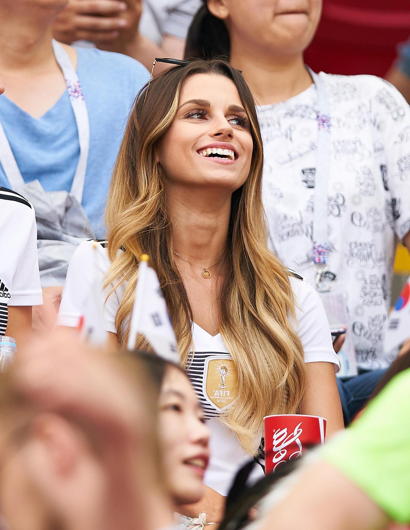 Christina Ginter bei der WM 2018 in Russland
