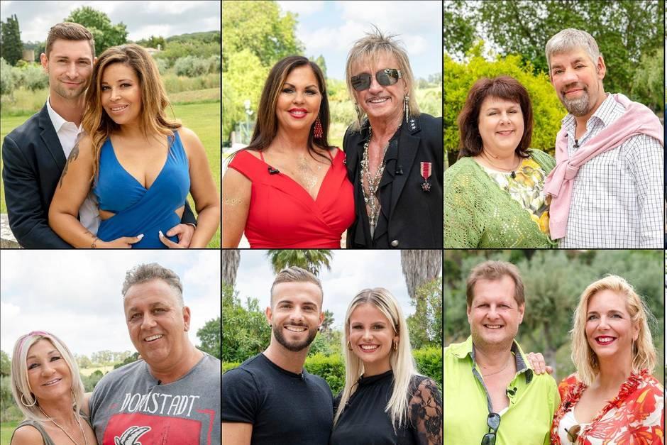 """Die 16 Kandidaten der dritten Staffel """"Das Sommerhaus der Stars"""""""