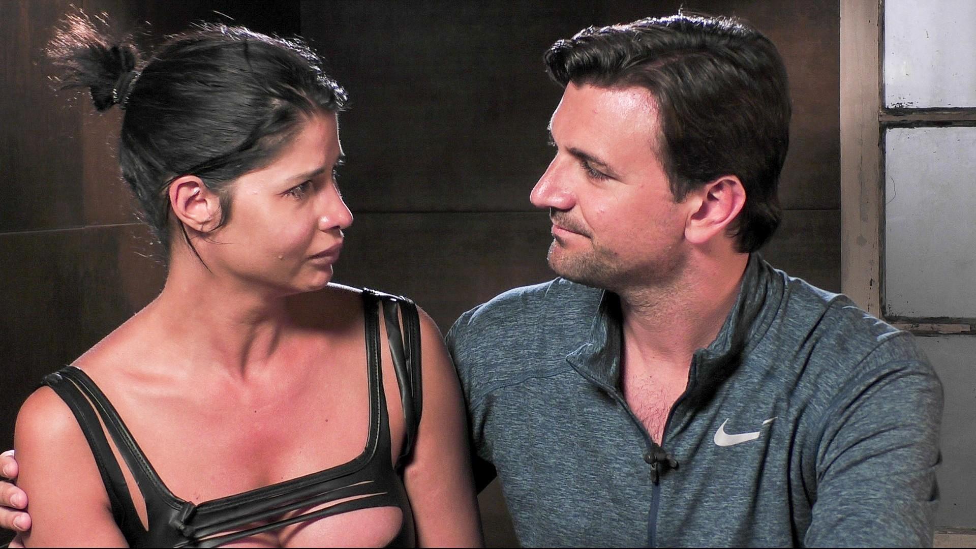 Micaela Schäfer und Felix Steiner