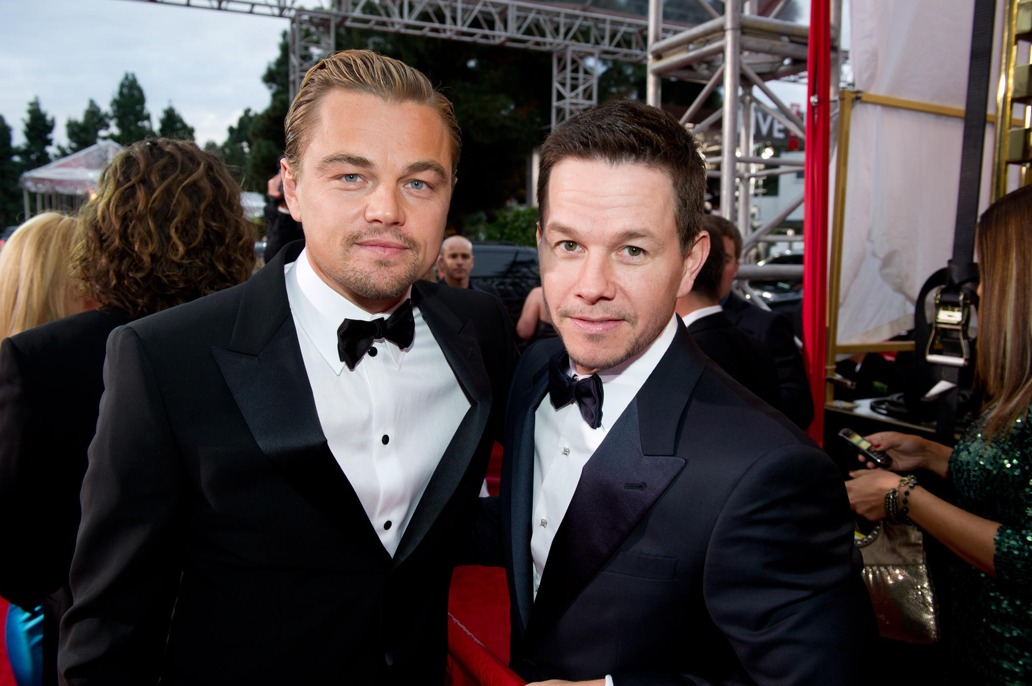 Leonardo DiCaprio und Mark Wahlberg