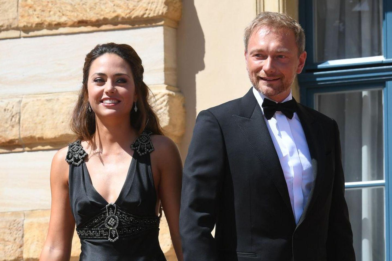 Christian Lindner mit seiner neuen Freundin Franca Lehfeldt