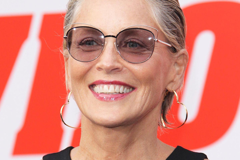 Sharon Stone auf einer Premiere in Los Angeles