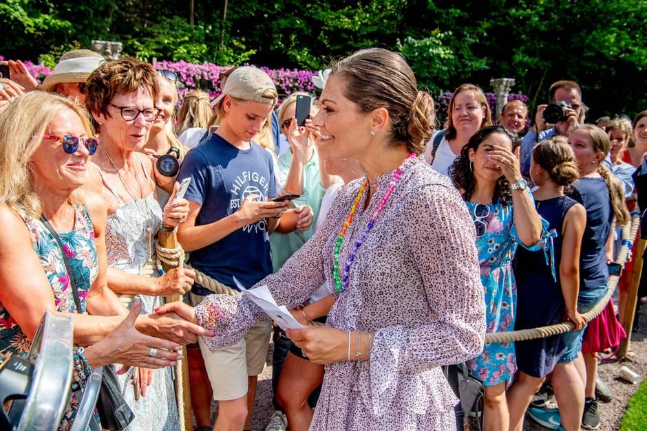 Prinzessin Victoria: Hier spricht sie Deutsch | GALA.de