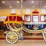Im Fuhrpark des Palasts befindet sich eine Kutsche für royale Ausfahrten von König Willem-Alexander und Königin Maxima.