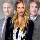 The love triangle between Christoph Saalfeld (L., Dieter Bach), Alicia Lindbergh (center, Larissa Marolt) and Viktor Saalfeld (Sebastian Fischer) is in the focus of the 14th season.