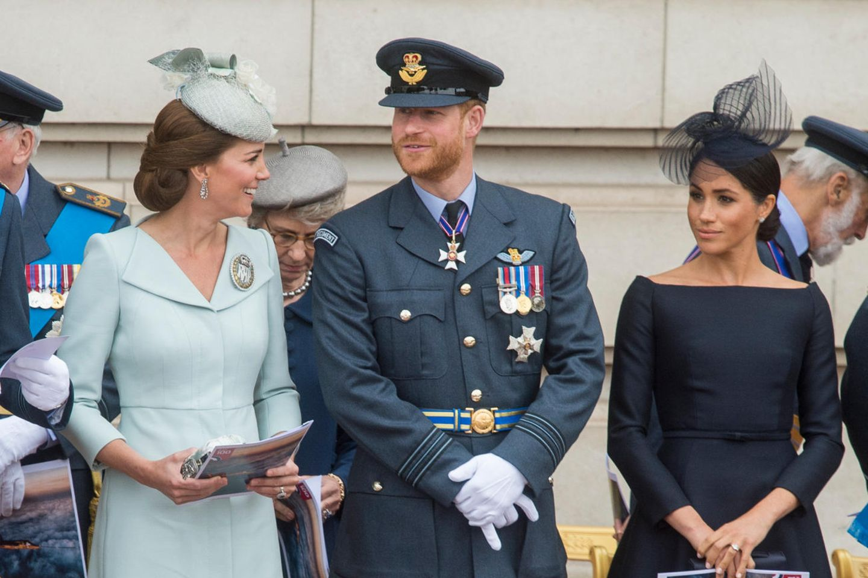 Ein gutes Team (v.l.n.r.): Herzogin Catherine, Prinz Harry und Herzogin Meghan