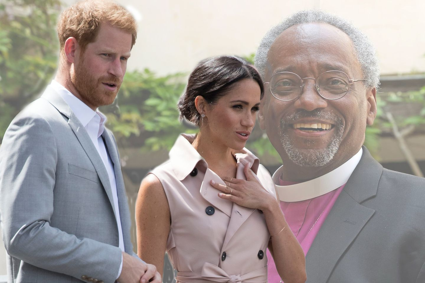 Prinz Harry, Herzogin Meghan, Michael Curry