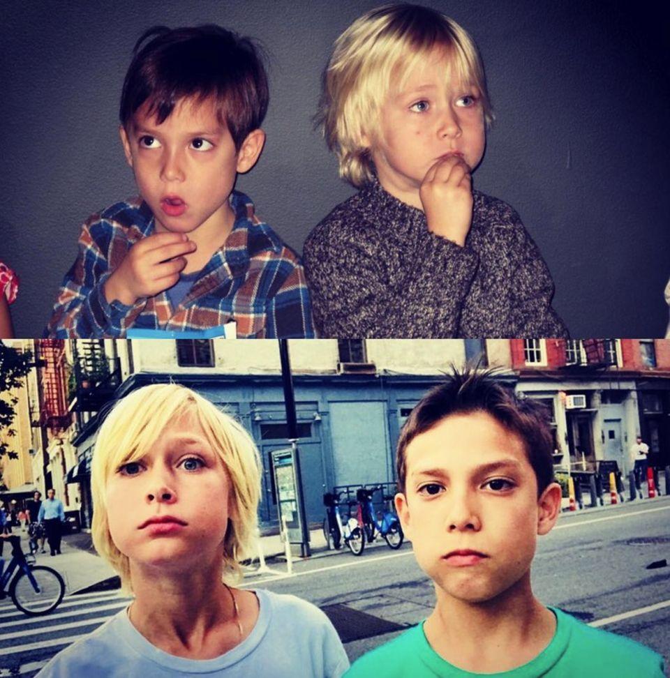 25. Juli 2018  Wie doch die Zeit vergeht! Liev Schreiber postet eine Collage seines Sohnes Samuel mit seinem besten Freund aus Bildern von heute und von vor 6 Jahren.
