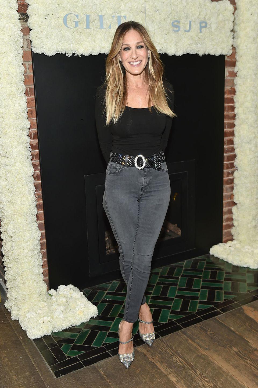 23. April 2018  Sarah Jessica Parker präsentiert in New York City ihre neue Braut-Kollektion.