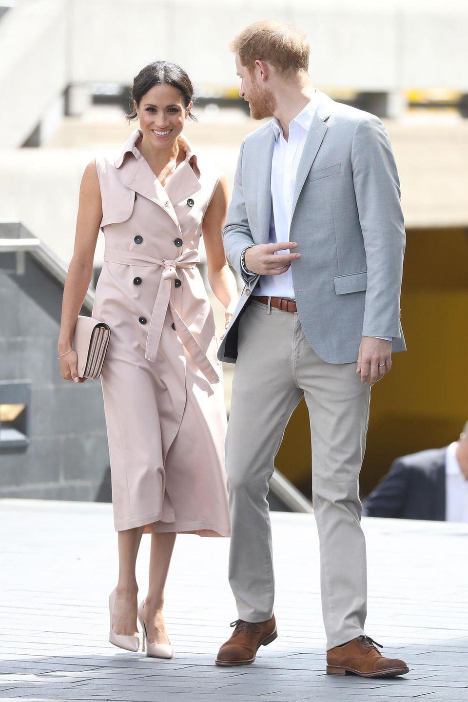 17. Juli 2018  Prinz Harry und Herzogin Meghan besuchen eine Veranstaltung zu Ehren von Nelson Mandela.