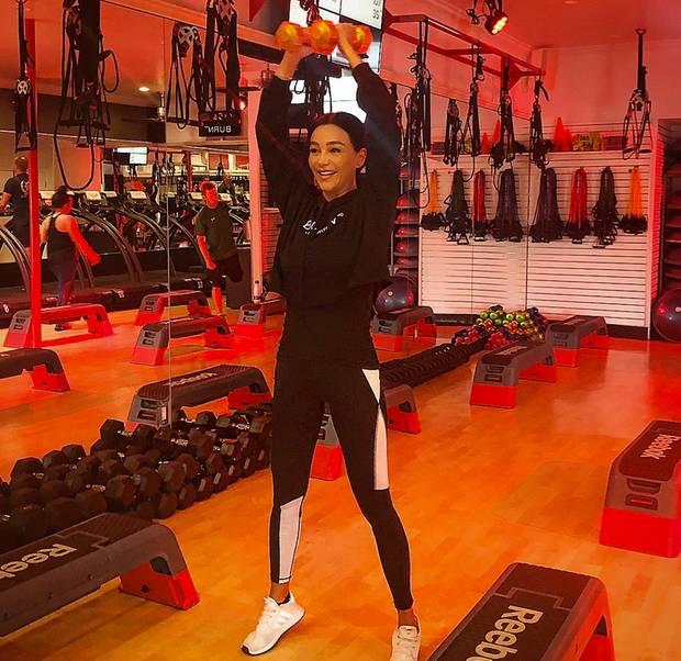 Fitness: Sportliche Stars - S. 33   GALA.de
