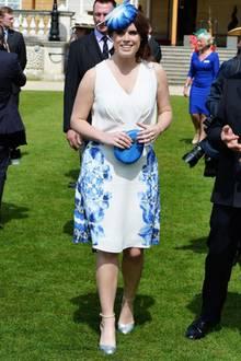 """Eugenie war noch nie """"Prinzessin Überschlank"""". Schon immer punktete sie mit einer eher weiblichen Silhouette - wie auch hier im Mai 2016."""