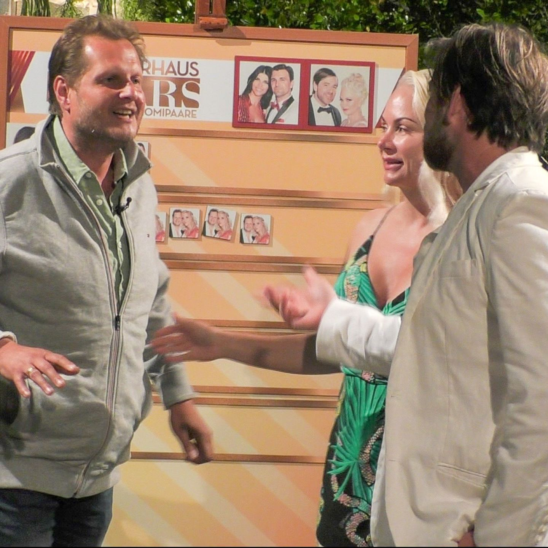 Jens Büchner mit Shawne Fielding und Patrick Schöpf