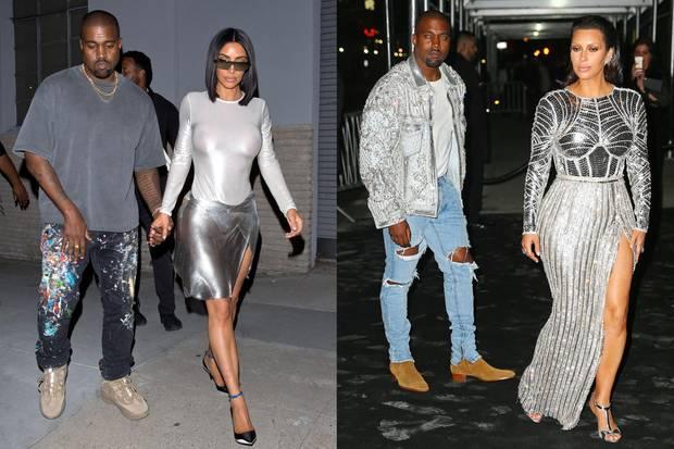 Auf dem Foto vom 28. Juli 2018 (links) sieht man deutlich, wie stark Kim Kardashian im Vergleich zum Mai 2016 abgenommen hat.