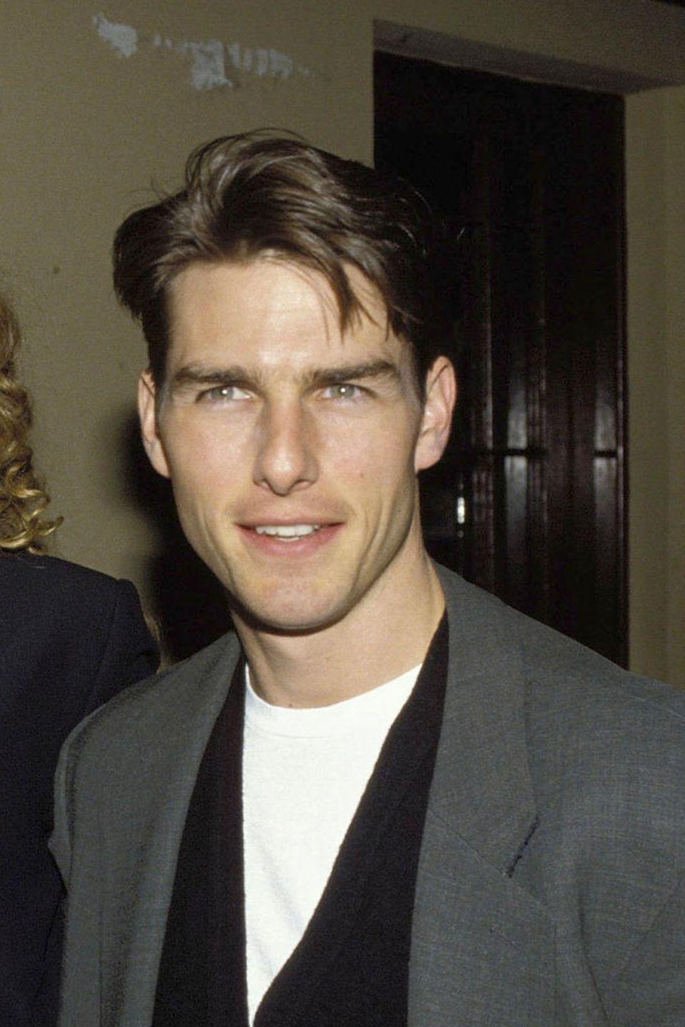 Man sieht: Im Vergleich zum Jahr 1993 ist Tom Cruise kaum gealtert. Dafür tut der Schauspieler allerdings auch eine Menge