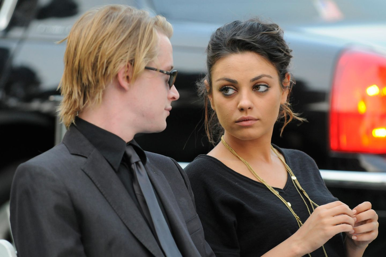 Macaulay Culkin und Mila Kunis