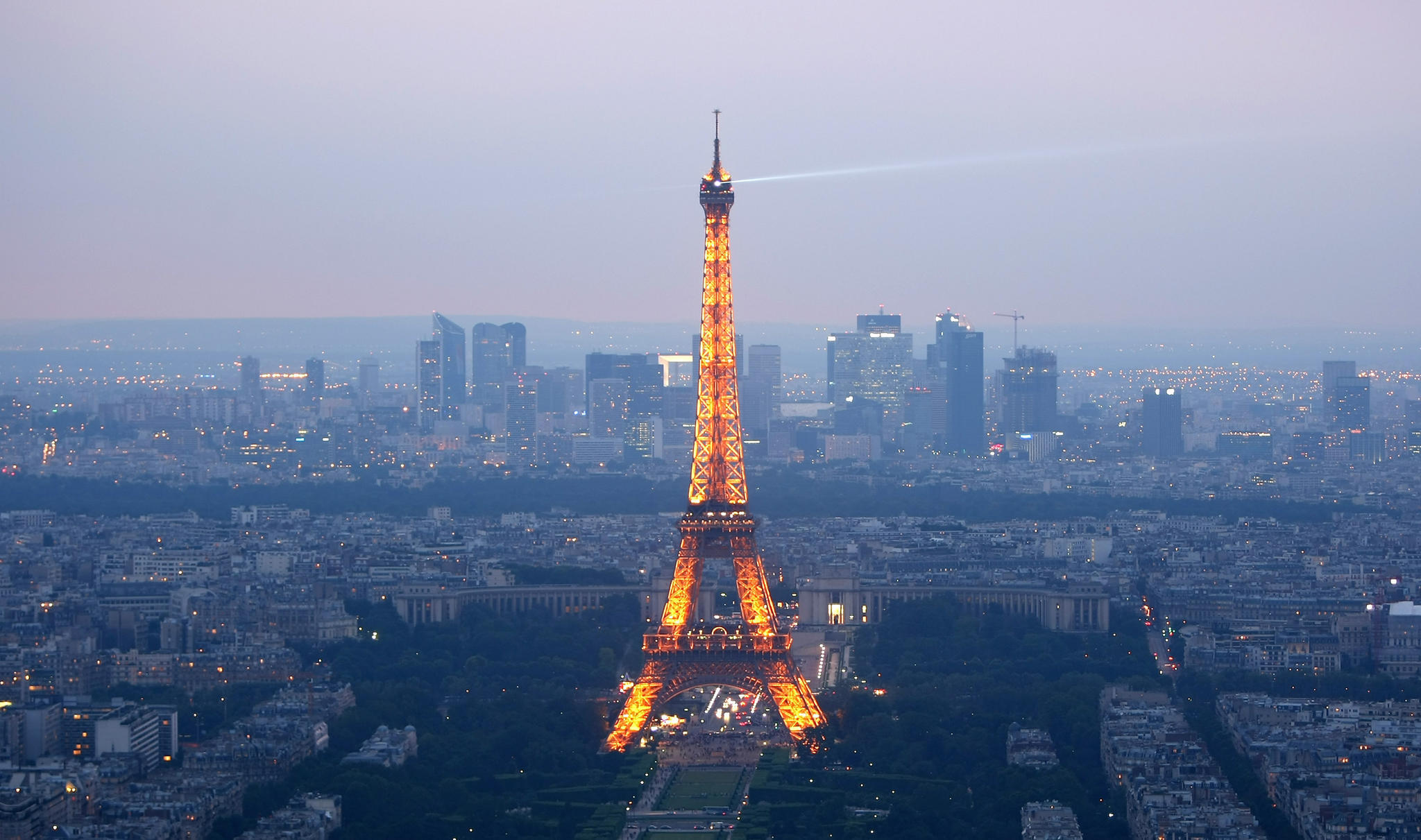 Der Eiffelturm in Paris