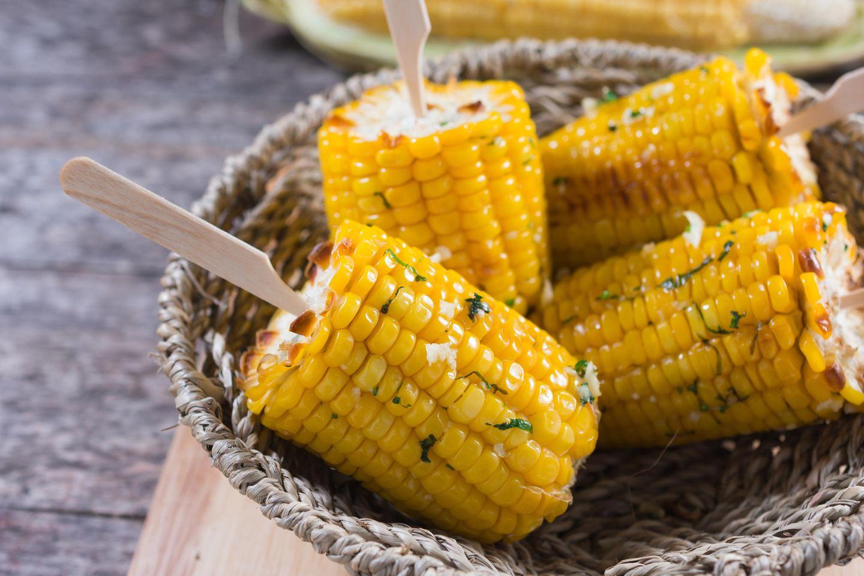 Stärkehaltiges Gemüse – Mais
