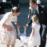 """Zum 40. Geburtstag von Prinzessin Victoria zeigt sich Söhnchen Oscar von seiner """"hust"""" besten Seite."""