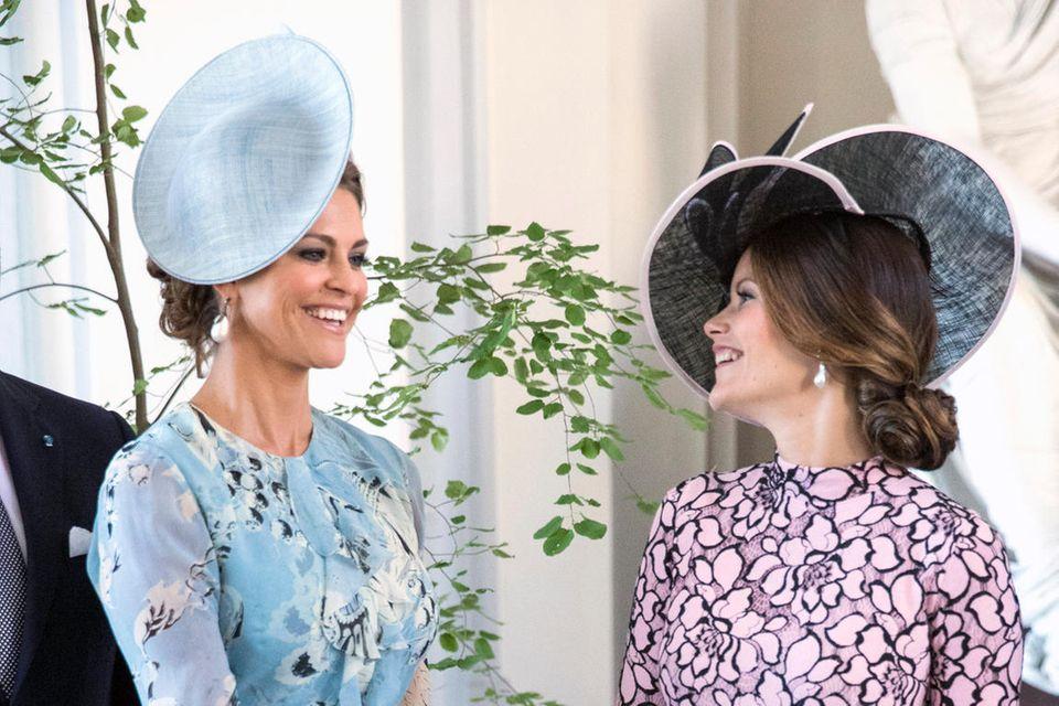 Prinzessin Madeleine von Schweden mit ihrer Schwägerin Prinzessin Sofia