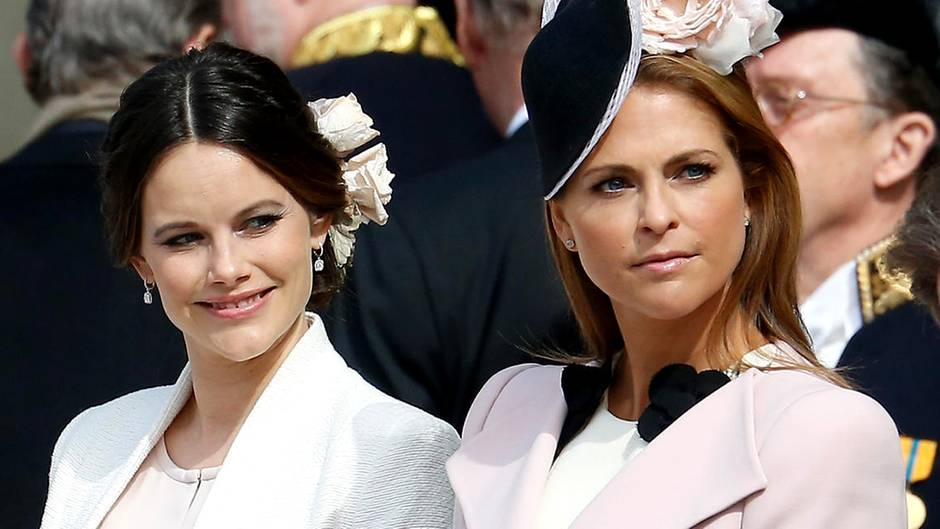 Prinzessin Madeleine und Prinzessin Sofia
