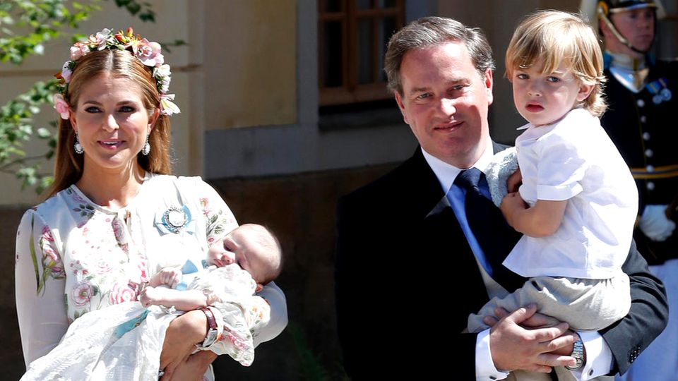 Prinzessin Madeleine und Christopher O'Neill