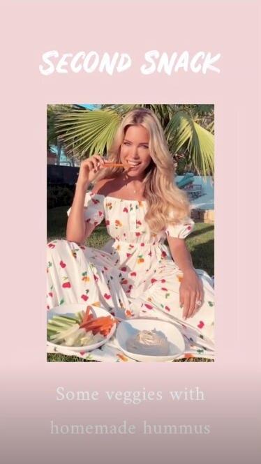 Food Journal Sylvie Meis: Rohkost