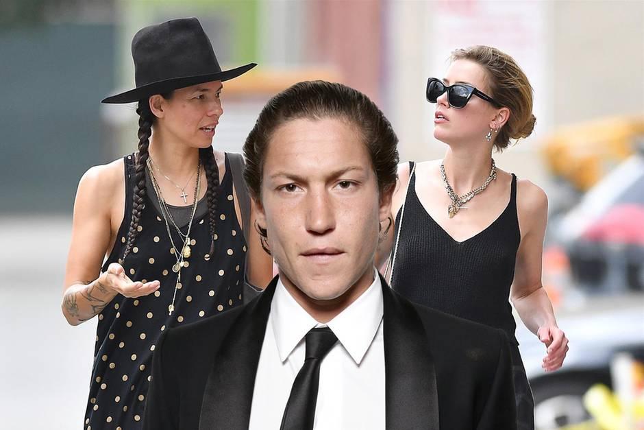 Amber Heard trifft Ex: Was sagt Vito wohl dazu?