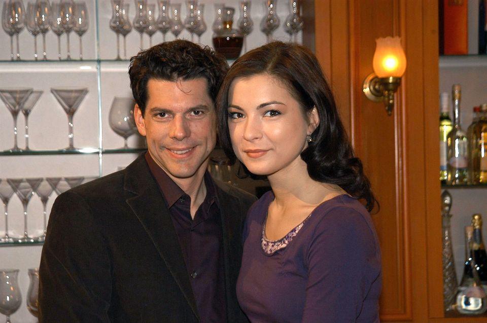 """Gregory B. Waldis und Henriette Richter-Röhl waren als Alexander Saalfeld und Laura Saalfeld das Traumpaar der ersten Staffel """"Sturm der Liebe"""""""