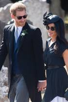 4. August 2018  Herzogin Meghans Geburtstag verbringt das Paar in Frensham bei der Hochzeit vonCharlie Van Straubenzee and Daisy Jenks, Freunden von Prinz Harry.