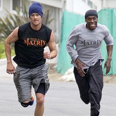 Auch wenn sich Josh Duhamel und Fergie voneinander getrennt haben, ihrem Personal Trainer bleiben sie jeweils treu. Doch sieht man Don Brooks, der sich und sein Programm Don-A-Matrix nennt, nicht nur mit den beiden durch die Hollywood laufen.
