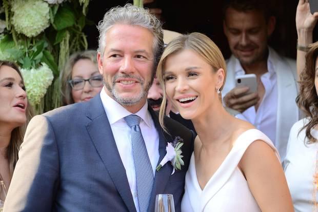 Douglas Nunes und Joanna Krupa bei ihrer Hochzeit