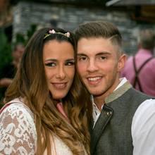 Joey Heindle und Ex-Frau Justine