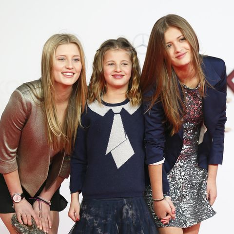 Luna, Emma + Lilly Schweiger