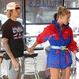 30. Juli 2018  Selbst bei dem Besuch in einem Schnellrestaurant können die beiden Turteltauben Justin Bieber und Hailey Baldwin die Finger nicht voneinander lassen.