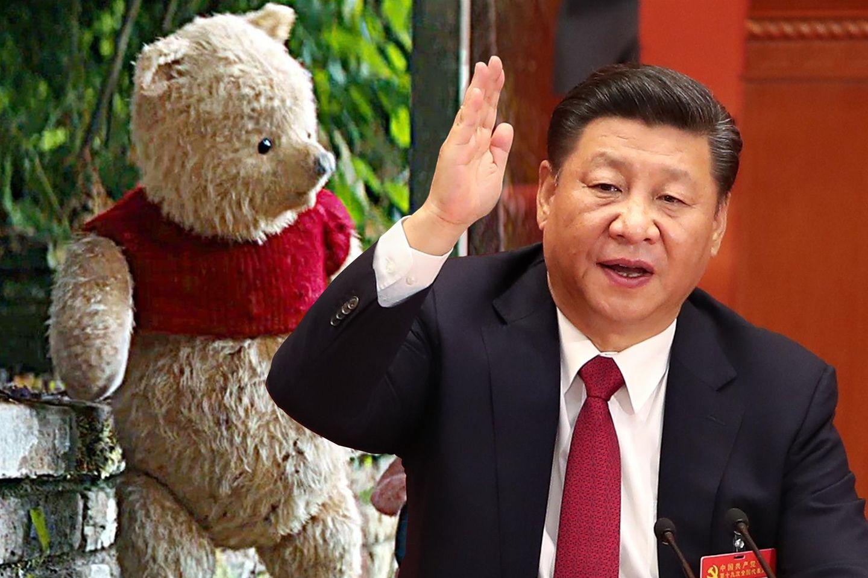 Ähnlichkeit? Winnie Puuh und Präsident Xi Jiping