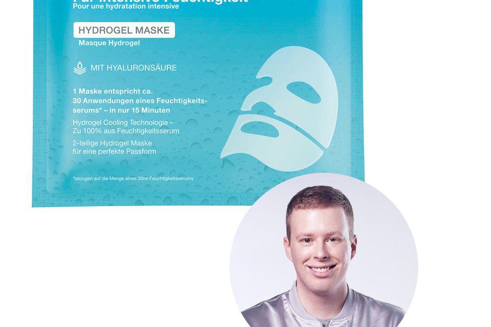 Redakteur Steffen gönnt sich ein Feuchtigkeits-Upgrade mit der HydrogelTuchmaskte von Neutrogena.