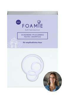 "Lifestyle-Redakteurin Jessica testet ""Foamie Festes Shampoo"""