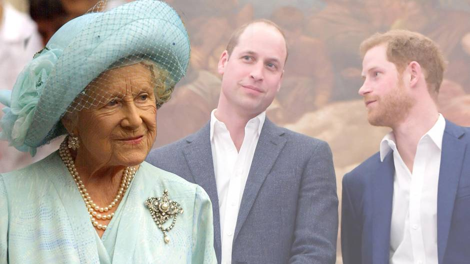Queen Mom vererbte Prinz Harry mehr als Prinz Willian