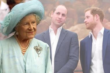 Queen Mom vererbtePrinz Harry mehr als Prinz Willian