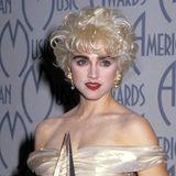 """Ein Hauch von Marilyn: Der Platinblond-Look gehörte 1987zum """"True Blue""""-Album"""