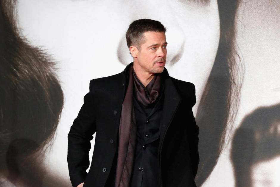 "Brad Pitt 2016 bei der Premiere von ""Allied"" in London"