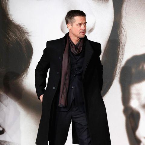 """Brad Pitt 2016 bei der Premiere von """"Allied"""" in London"""