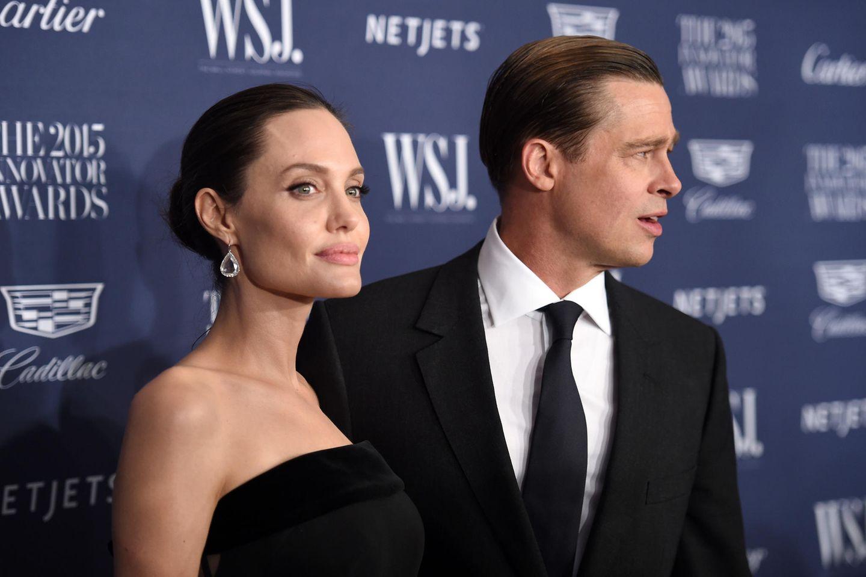 Einst das Traumpaar Hollywoods: Angelina Jolie und Brad Pitt 2015