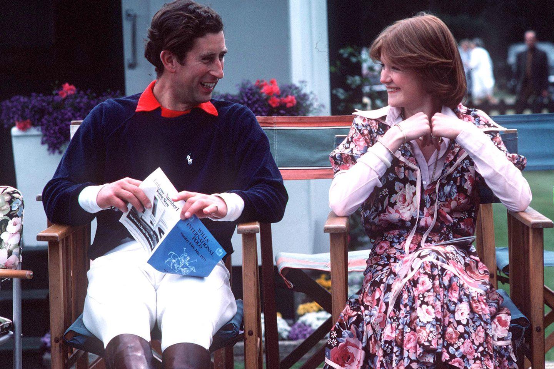 Prinz Charles und Lady Sarah McCorquodale