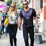 Heidi Klum & Martin Kirsten: Hauptsache Sonnenbrille!  Mit Martin Kristen war Heidi von 2012 bis 2014 liiert. Während dieser Zeit dominierencoole Denim-Looks. Das eine Accessoire, das nie fehlt? Die Sonnenbrille!