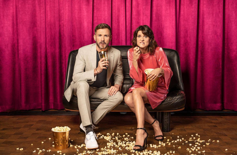 Jochen Schropp und Marlene Lufensind schon total gespannt: Gemeinsam moderieren sie die Show.