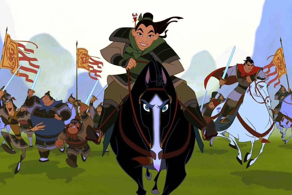 "Disneys ""Mulan"" kam 1998 in die Kinos"