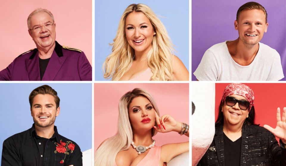Promi Big Brother 2018 - Kandidaten